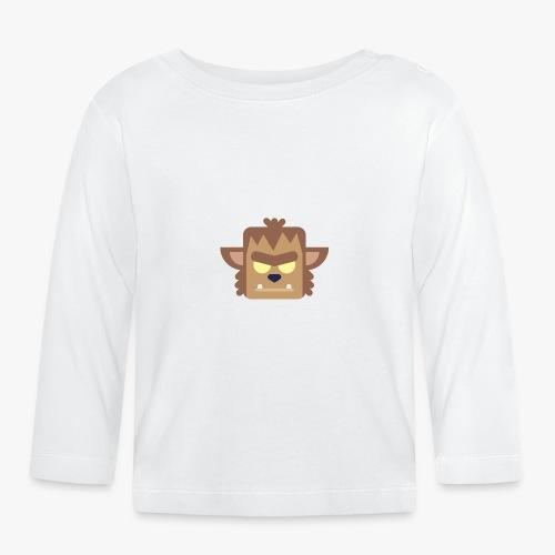 Mini Monsters - Werewolf - Langærmet babyshirt