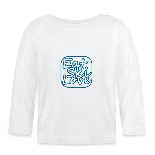 eat ski love - T-shirt