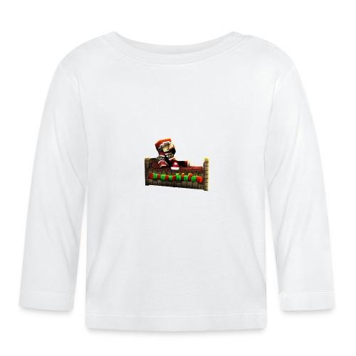 #Ausgeschlafen Weihnachts-Hoddie - Baby Langarmshirt