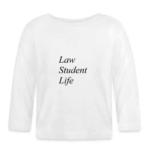 Law Student Life - Maglietta a manica lunga per bambini