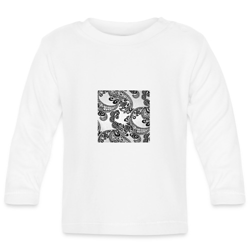 tribal print hat - Baby Long Sleeve T-Shirt