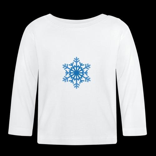Snowflake - Langærmet babyshirt