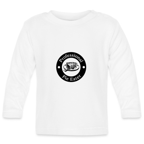 pie eater - Baby Long Sleeve T-Shirt