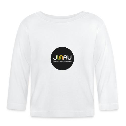 JUNAU - Das muss ich Wissen (rund) - Baby Langarmshirt