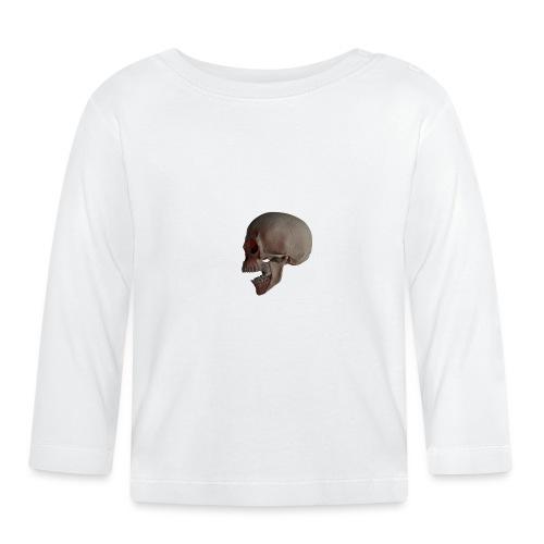 Teschio - Maglietta a manica lunga per bambini
