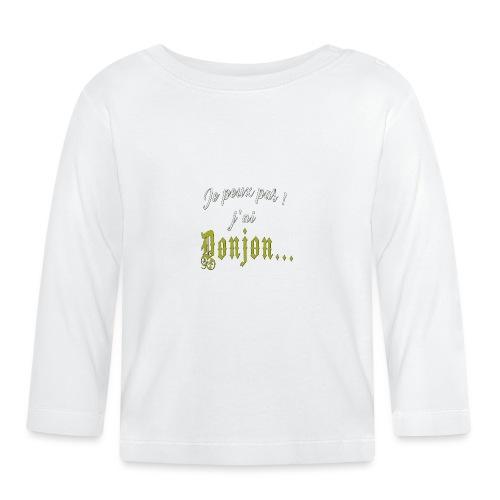 KeepStuff-Jaune-Donjon - T-shirt manches longues Bébé