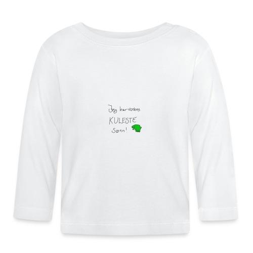 Kul sønn - Langarmet baby-T-skjorte