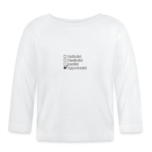 opportuniste - T-shirt manches longues Bébé