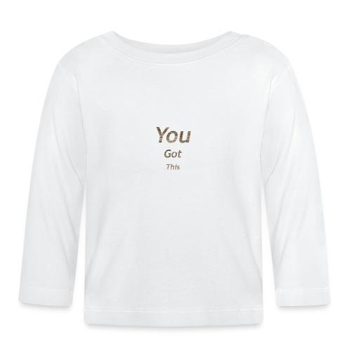 Vous avez obtenu ce - T-shirt manches longues Bébé