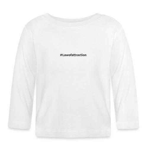 hahstag lawofattraction - T-shirt manches longues Bébé