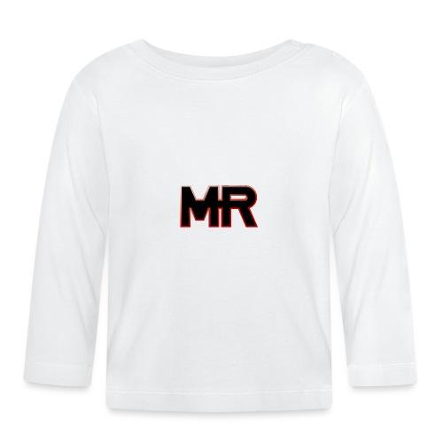 MR logo - Langærmet babyshirt