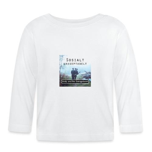 Sosialt Uakseptabelt - Langarmet baby-T-skjorte