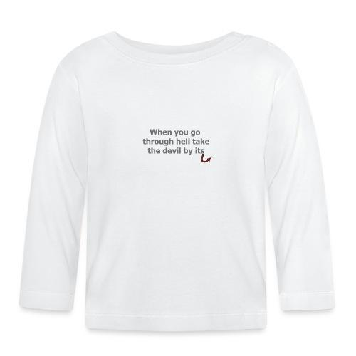 diable - T-shirt manches longues Bébé
