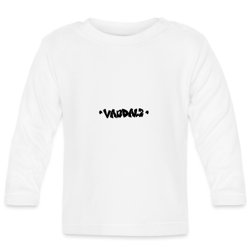 Vandalz Black - Maglietta a manica lunga per bambini