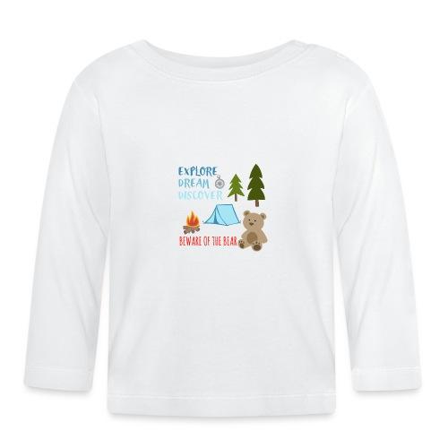 Beware Of The Bear - Baby Long Sleeve T-Shirt