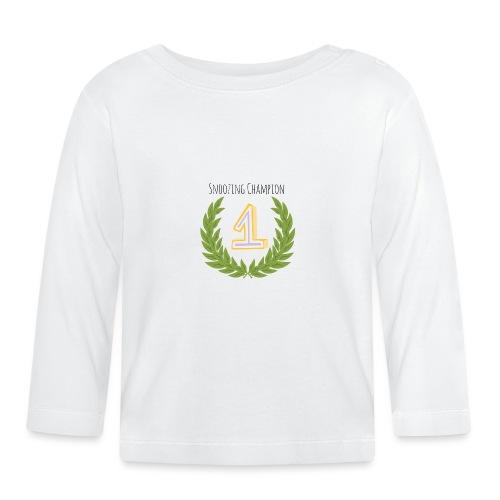 Snoozing Champion - Baby Long Sleeve T-Shirt