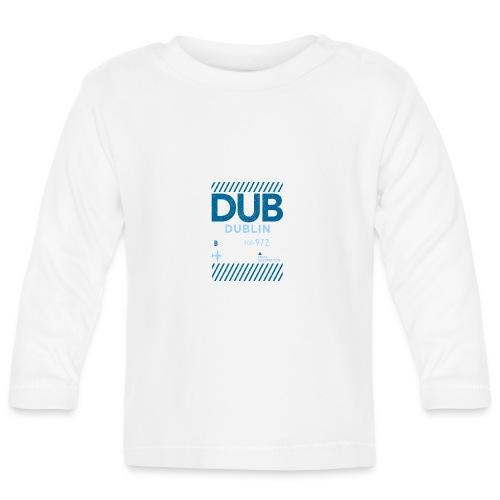 Dublin Ireland Travel - Baby Long Sleeve T-Shirt