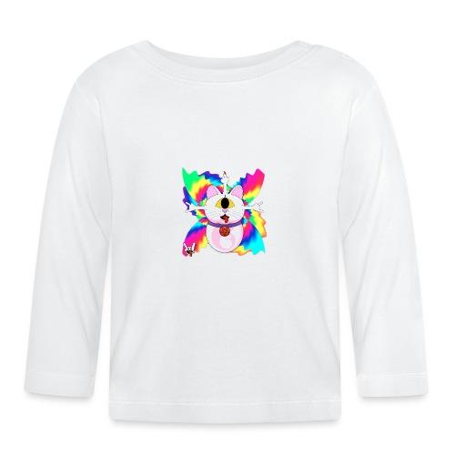 Chat diabolique - T-shirt manches longues Bébé