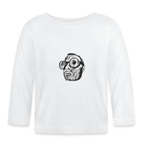 Face Tegner 2 - Langærmet babyshirt