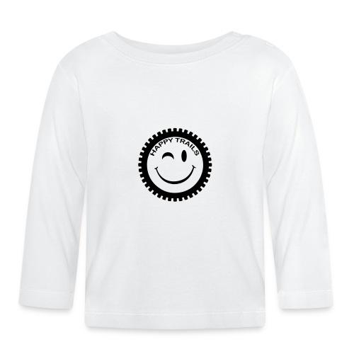 2016_HappyTrails_BW_new2 - Baby Langarmshirt