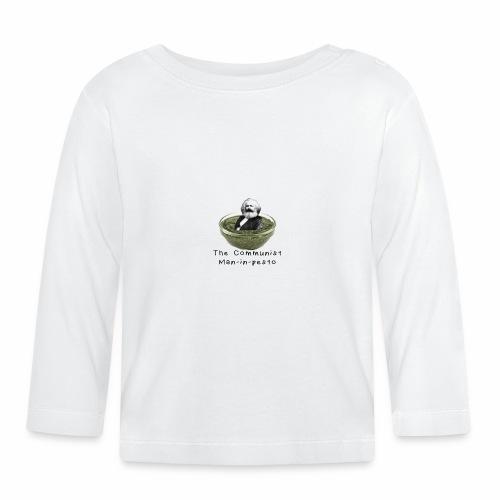 Man-in-pesto - Baby Long Sleeve T-Shirt