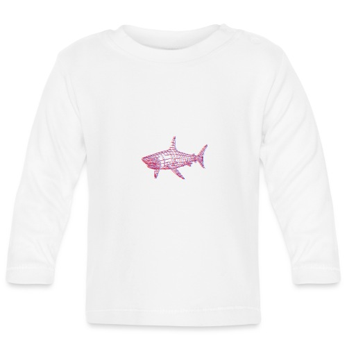 Jaws 3D - T-shirt manches longues Bébé