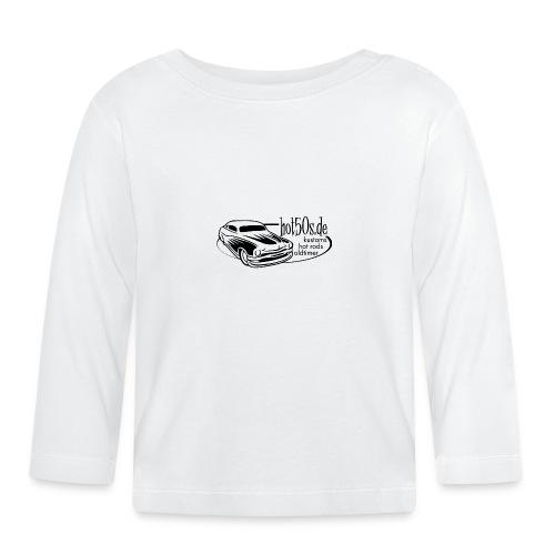 Hot50s Logo - Baby Langarmshirt