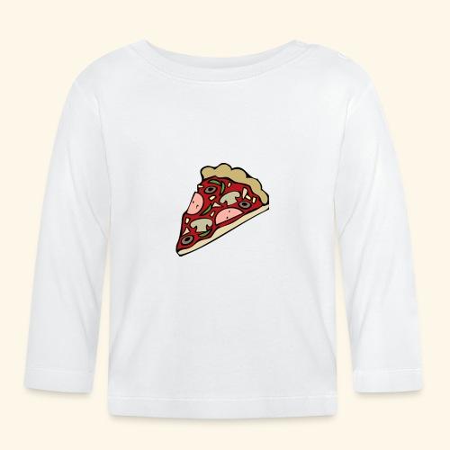 Pizza - T-shirt manches longues Bébé