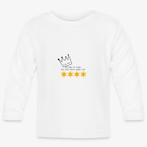 The Kings of Rugby (Kids) - Baby Long Sleeve T-Shirt