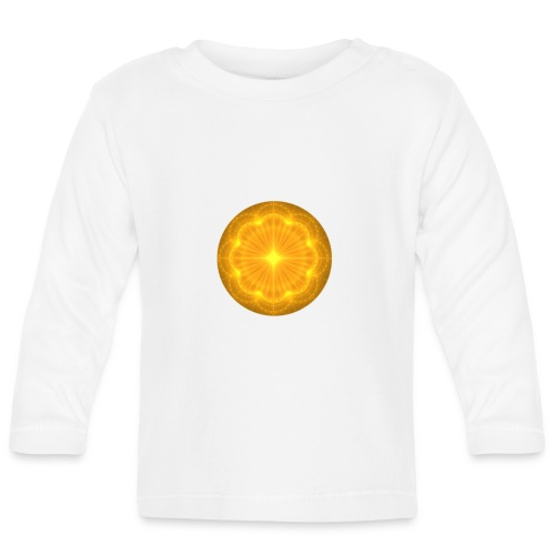 Golden Radiance Mandala Heart - T-shirt
