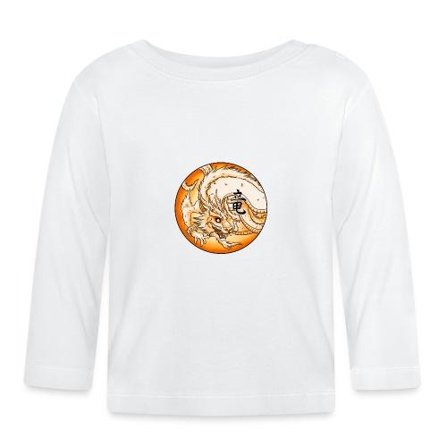 Chinese Dragon - Koszulka niemowlęca z długim rękawem
