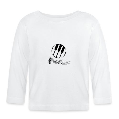 Le piano roulant. - T-shirt manches longues Bébé