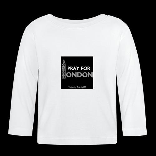 PRAY FOR LONDON - T-shirt manches longues Bébé