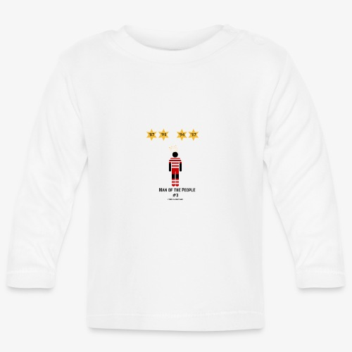 man of the people - Baby Long Sleeve T-Shirt