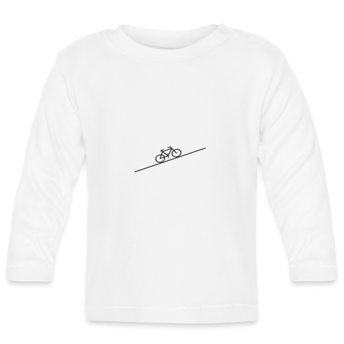 bike_climb.png - Baby Long Sleeve T-Shirt