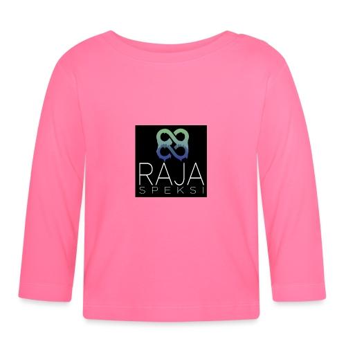 RajaSpeksin logo - Vauvan pitkähihainen paita