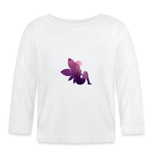 Purple fairy - Langarmet baby-T-skjorte