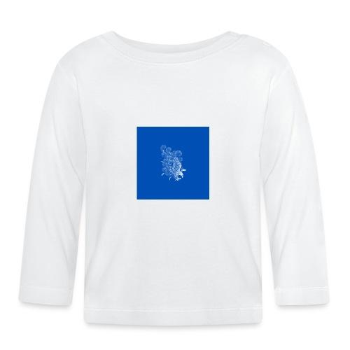 Windy Wings Blue - Baby Long Sleeve T-Shirt
