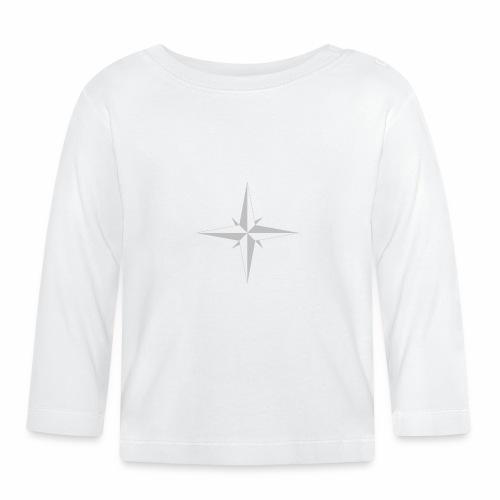 Compas Rose - Langærmet babyshirt