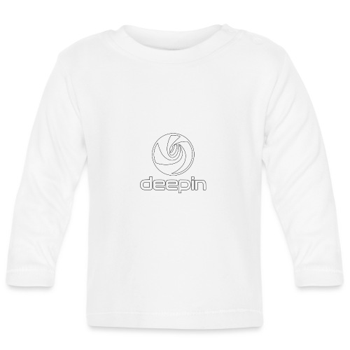 deepinlogotrasparente - Maglietta a manica lunga per bambini