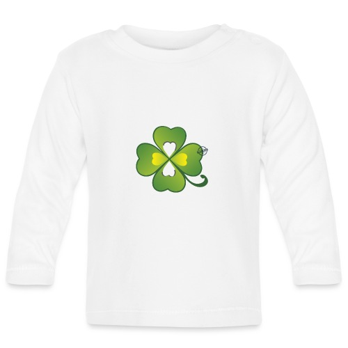 Clover - Symbols of Happiness - Baby Long Sleeve T-Shirt