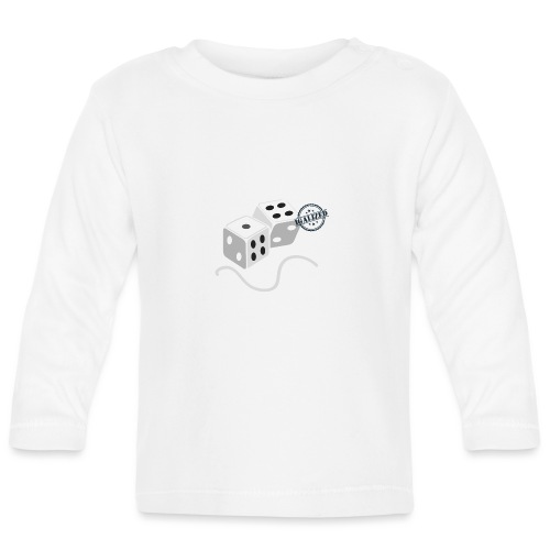 Dice - Symbols of Happiness - Baby Long Sleeve T-Shirt
