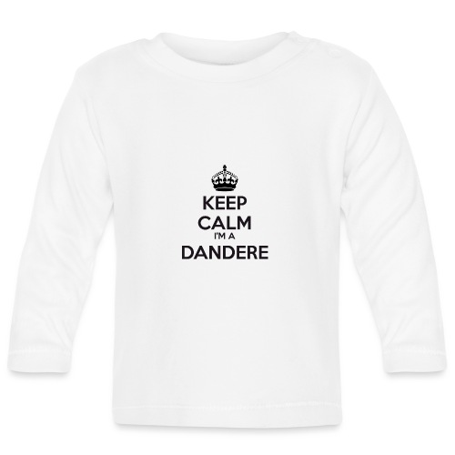 Dandere keep calm - Baby Long Sleeve T-Shirt