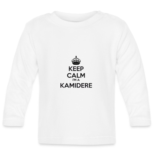 Kamidere keep calm - Baby Long Sleeve T-Shirt