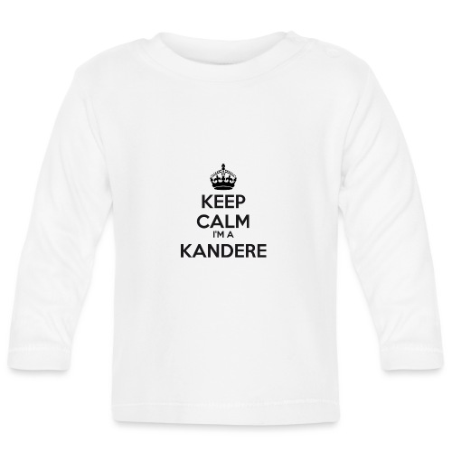 Kandere keep calm - Baby Long Sleeve T-Shirt