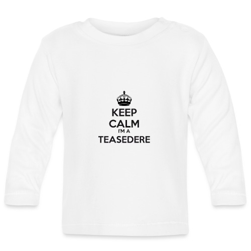 Teasedere keep calm - Baby Long Sleeve T-Shirt