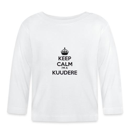 Kuudere keep calm - Baby Long Sleeve T-Shirt