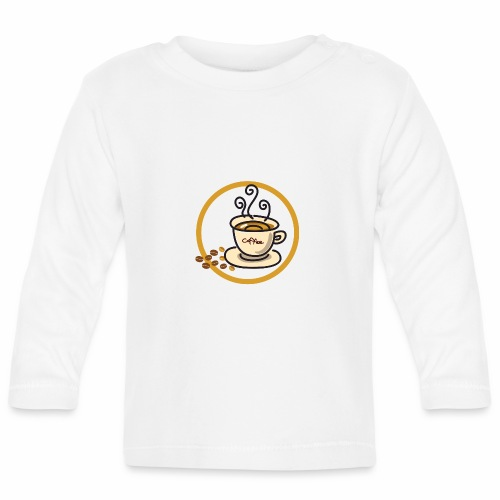 Kaffeeemblem - Baby Langarmshirt