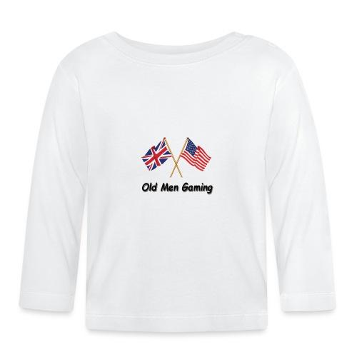 OMG logo - Baby Long Sleeve T-Shirt