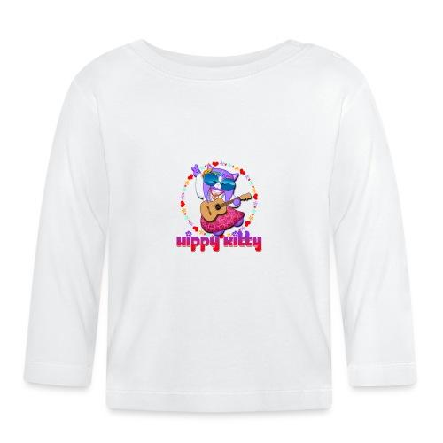 Hippy Kitty - Maglietta a manica lunga per bambini